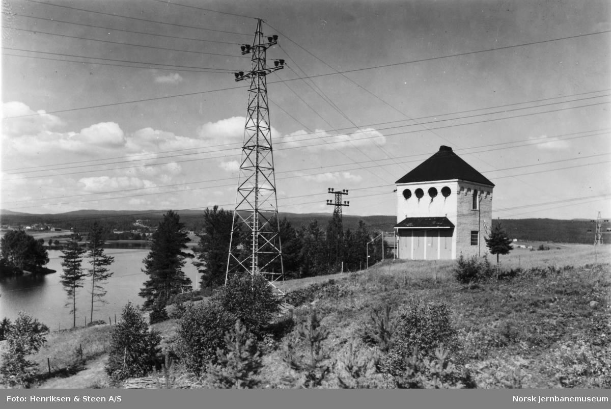 Sunnet koblingshus på Hakavik-ledningen