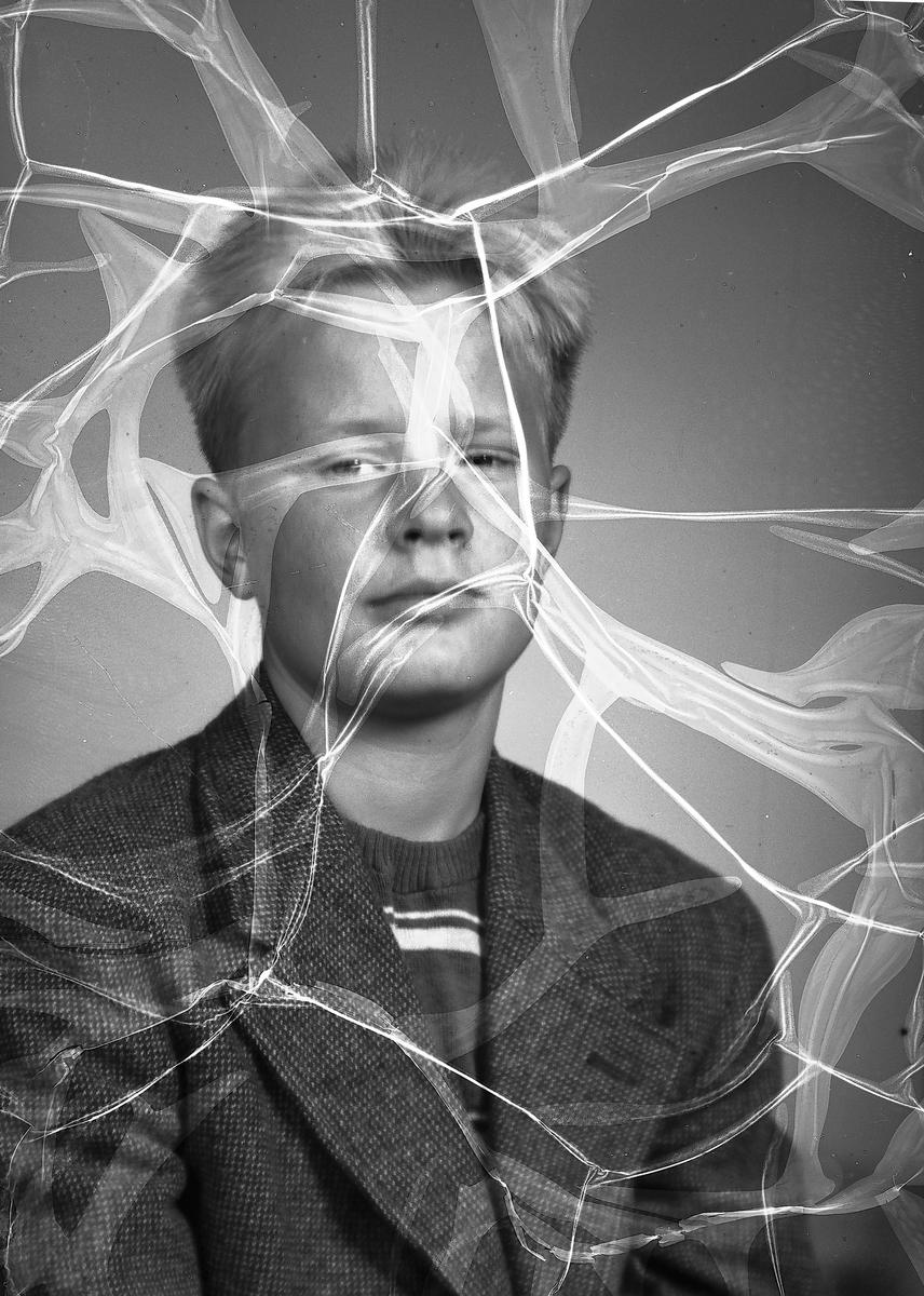 Dahlberg på Siporex. Augusti 1951