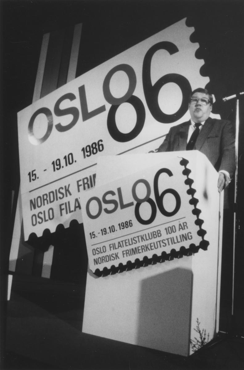Nordisk Frimerkeutstilling i Oslo 1986.