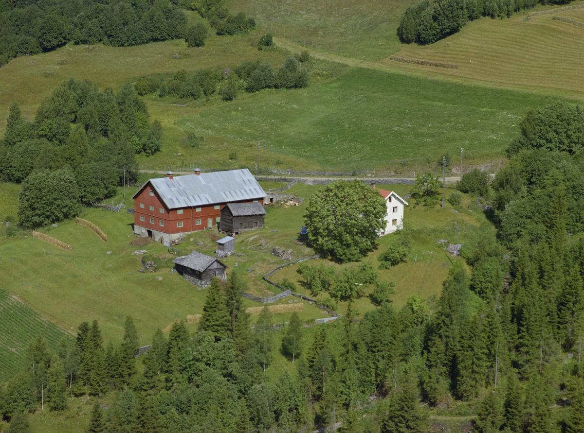 Saksumdal, Nedre Ulland gård, som lokalt noen ganger kalles Grønlien etter familien.