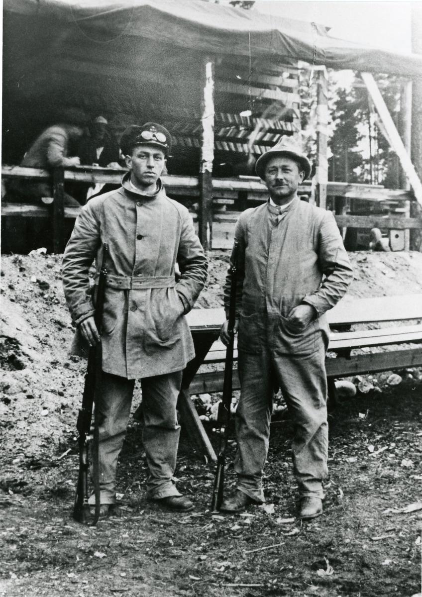 Gunnar Garthus og Mikkal Fønhus.
