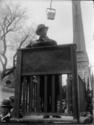 """""""Majdemonstration för demokratien"""", Uppsala 1933"""