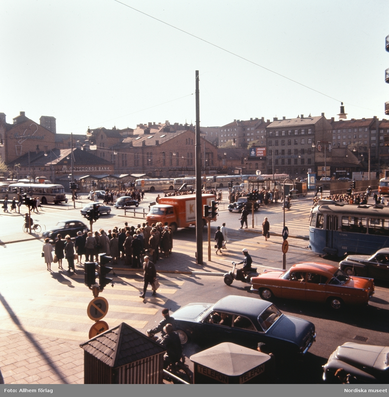 Stockholm, gamla Skanstull.