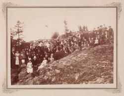 Den tyske forenings utflukt til Søndre Langø.