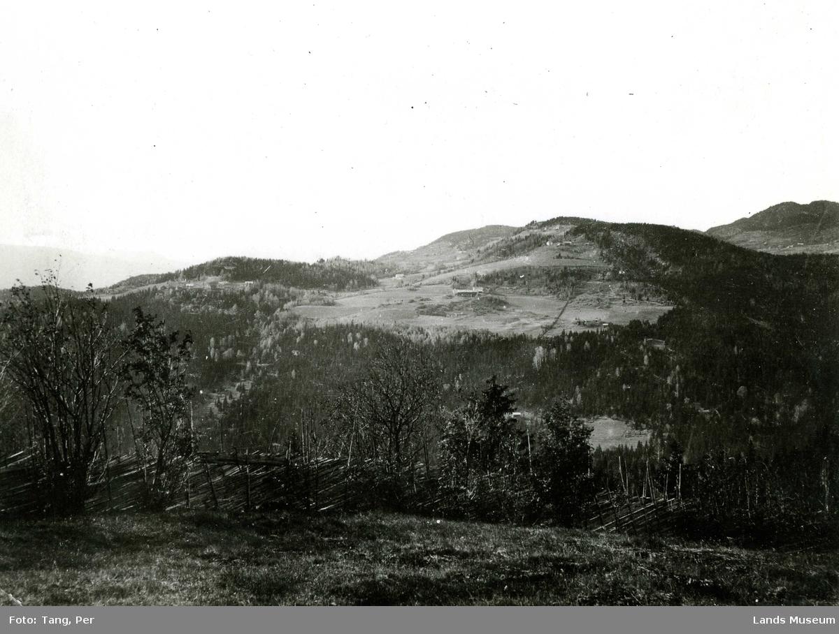 Dokkadalens vestside sett fra Gjevle