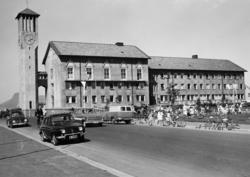 Bodø stasjonsbygning, bysiden