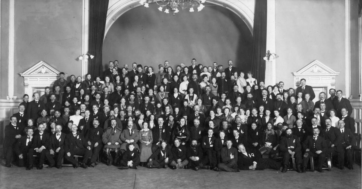 Landsmøtet i Trondheim 1917 (Foto/Photo)