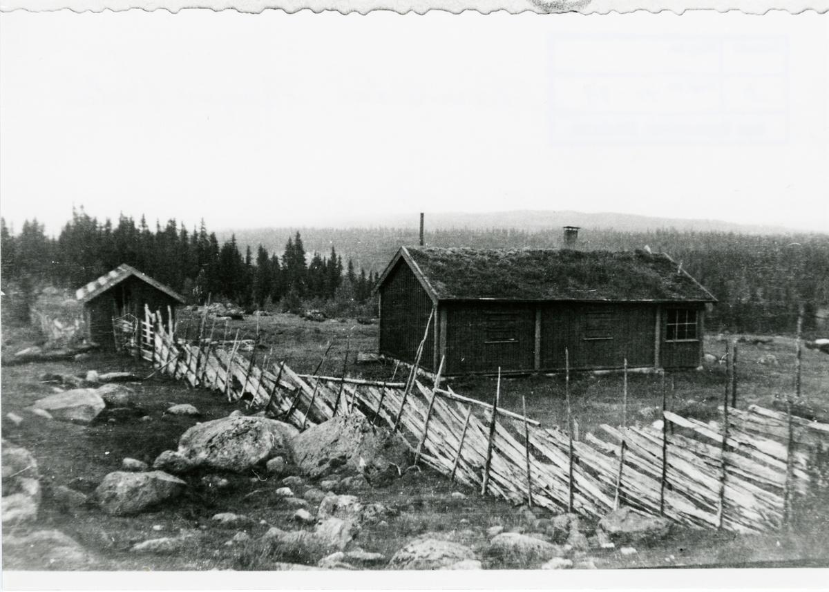 Seter som har tilhørt garden Skaro, Sør-Aurdal.