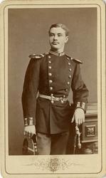 Porträtt av okänd officer vid Jönköpings regemente I 12.