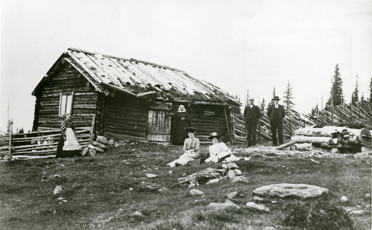 Bekkevollen, seter på Høvsseter, Sør-Aurdal.