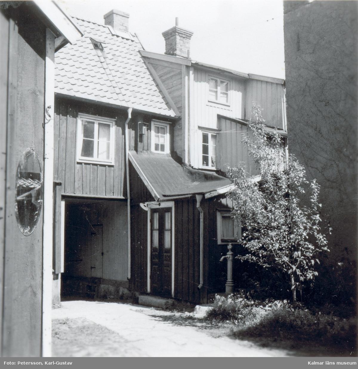 Innergården till en fastighet i kvarteret Skrivaren.