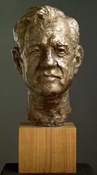 Høyesterettsjustitiarius Rolv Ryssdal [Skulptur]