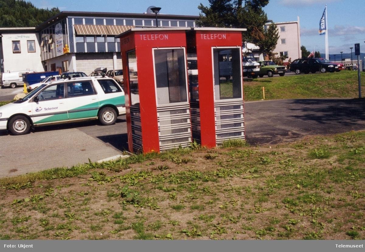 Telefonkiosker i Bardufoss