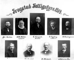 Trøgstad Fattigstyre 1914.