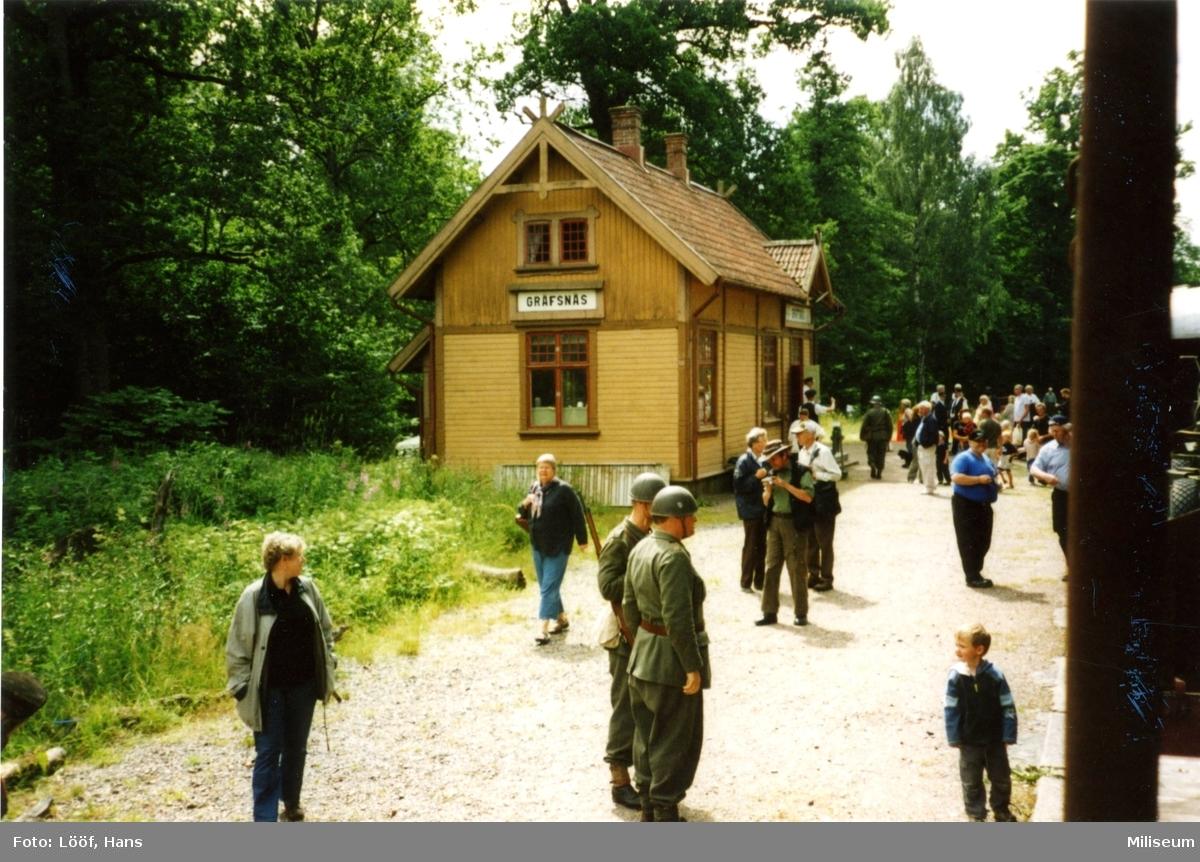 Stationen i Gräfsnäs.