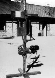Luftvärnet, övningsapparat för målföljningsövn med lv - kano