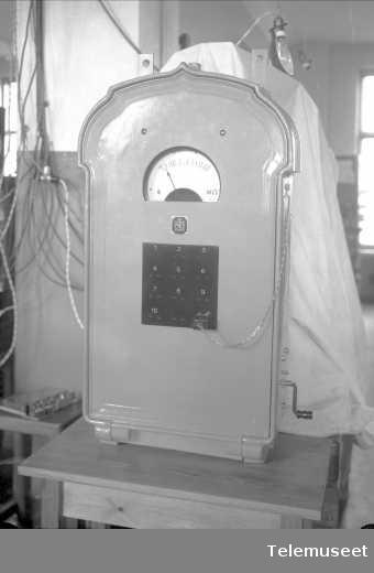 Isolasjonsmåler, Rjukanfoss, Elektrisk Bureau