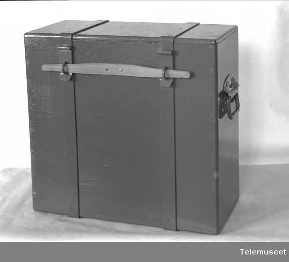 Pakkasse for modell-veksler, Monocord 15 lj, Tyrkiske krigsministerium 1933, Elektrisk Bureau.