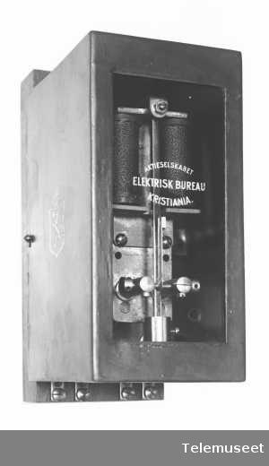 Pendelpolveksler, lukket. Elektrisk Bureau.