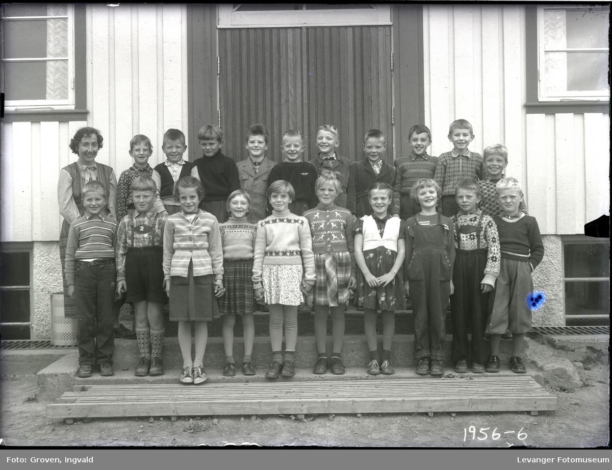 Skolebilde fra folkeskole,  Mule skole.