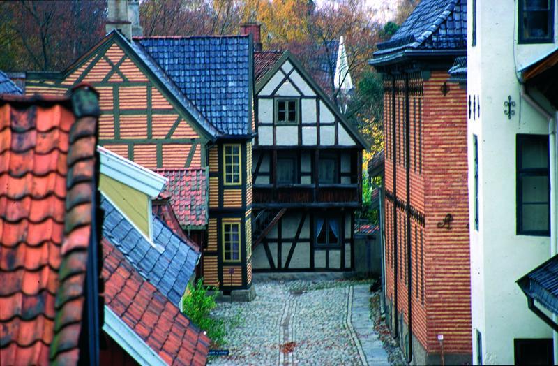 Gamlebyen i Friluftsmuseet