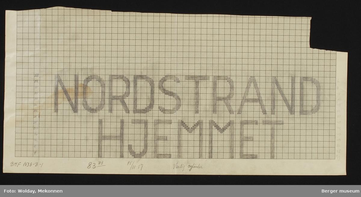 """""""NORDSTRAND HJEMMET"""""""