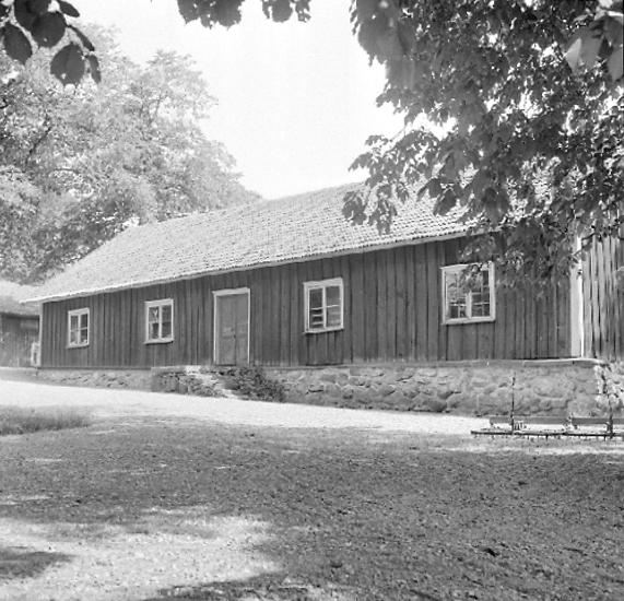 Bildtext: Skallmeja socken. Skånings härad. Västergötland. Hästhalla gård.