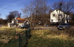 Franckegatan 16 (Sörliden 6) i Mölndal i april 1997. Tomten