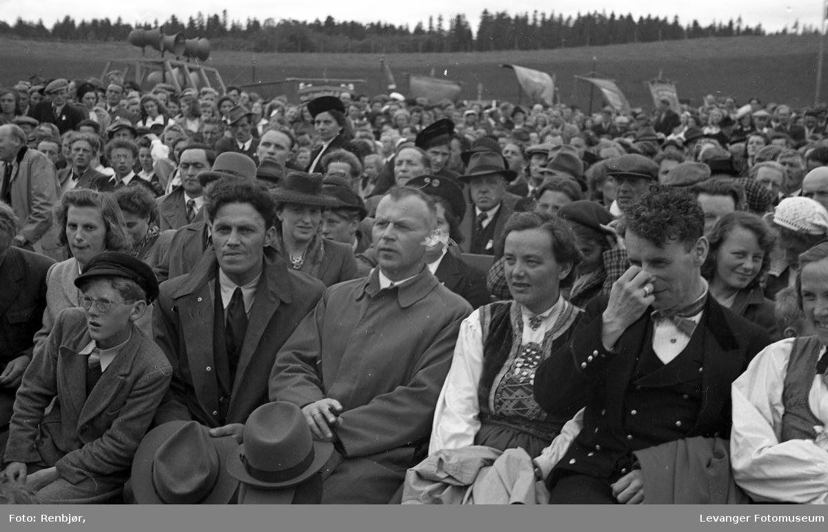 Hovden, Noregs Ungdomslags, 50-års jubileumsstevne på Stiklestad