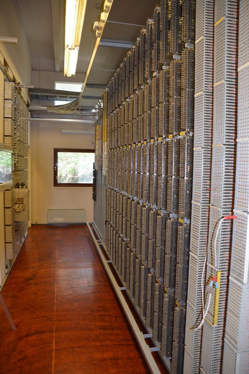 Jeløy automatsentral LN hall interiør