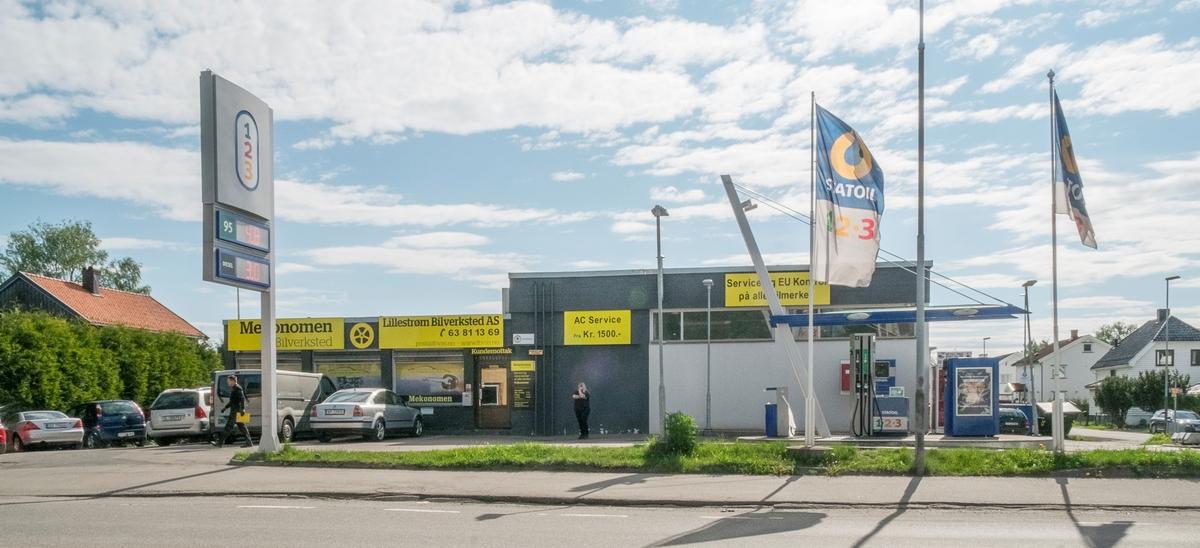 123 bensinstasjon Storgata Lillestrøm Skedsmo