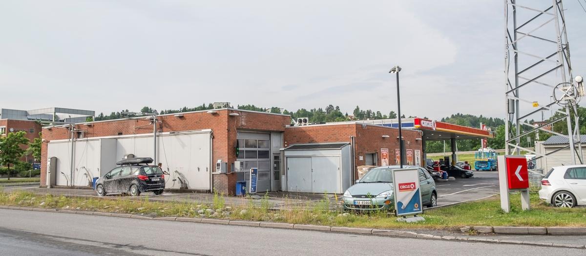 Statoil bensinstasjon omdannes til en Circle K stasjon Hamangskogen Sandvika Bærum