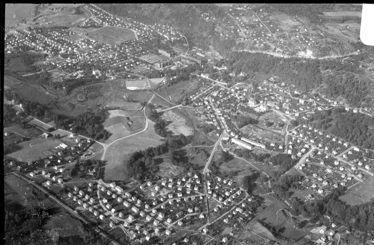 Flygfoto över Huskvarna
