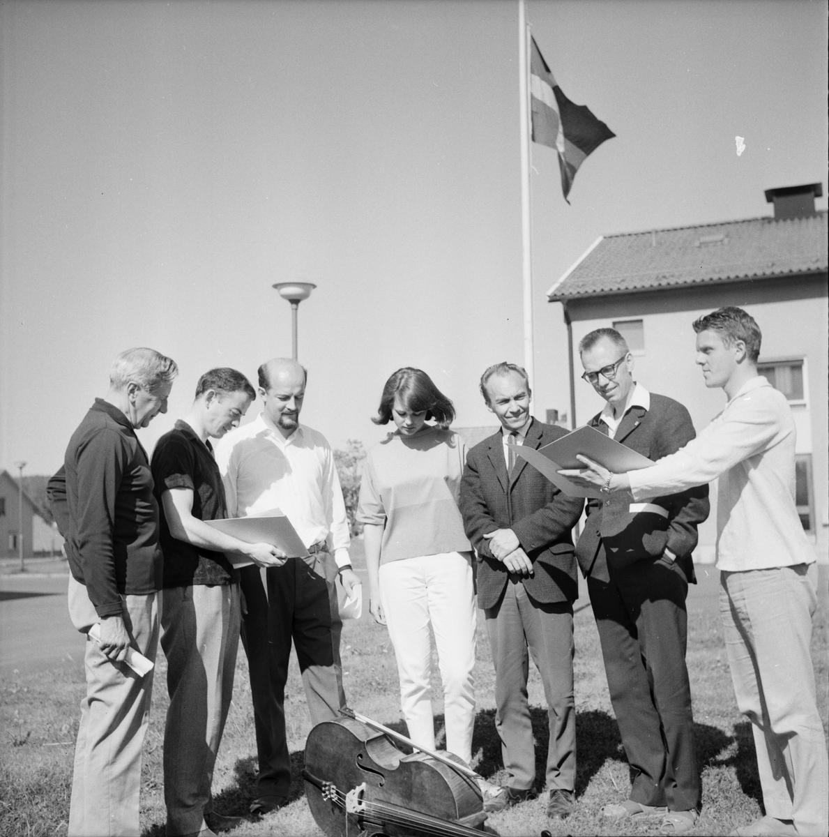 Musik för ungdom, Folkhögskolan, 14 Juni 1966