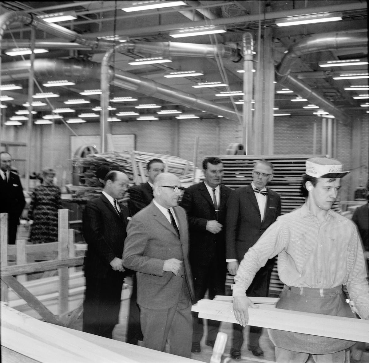 Lions Arbrå, Besök på Edsbyverken, 18 Mars 1968