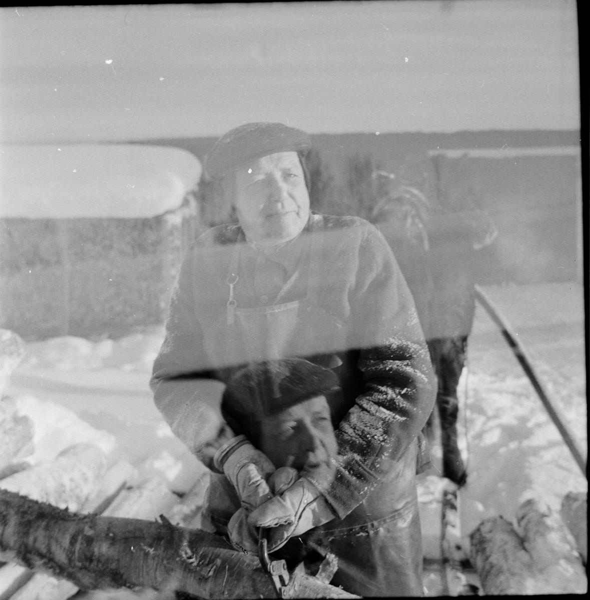 "Arbrå, ""Koldemopojken"" Jonas Persson, Januari 1968"