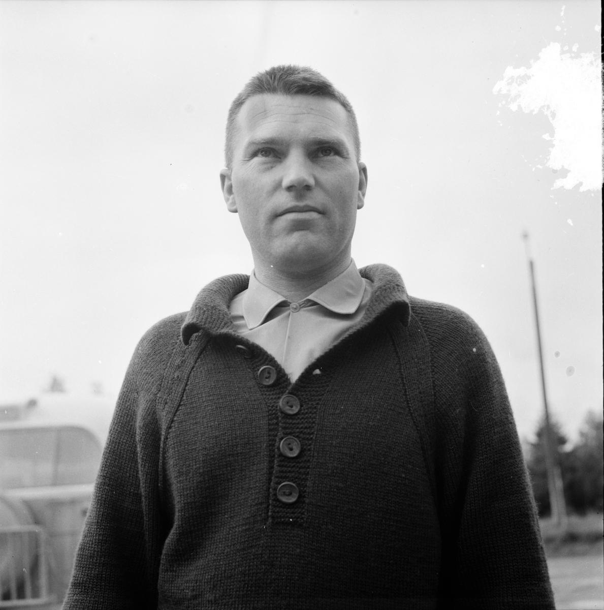Undersvik, Vägras i Simeå, September 1965