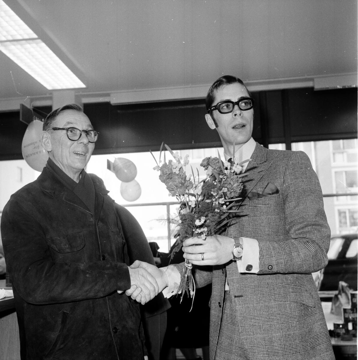 Arbrå, Handelsbanken flyttar in, Febr 1970