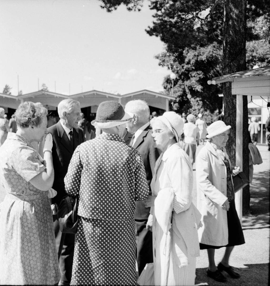 Pensionärer, Långnäs. 28/7-1966