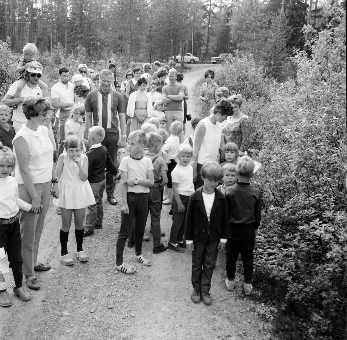 Arbrå, Skogsmulleavslutning, Juni 1969