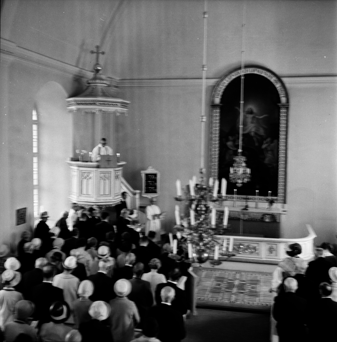 Stiftsgården, 25 års-jubileet, annandag pingst 1969