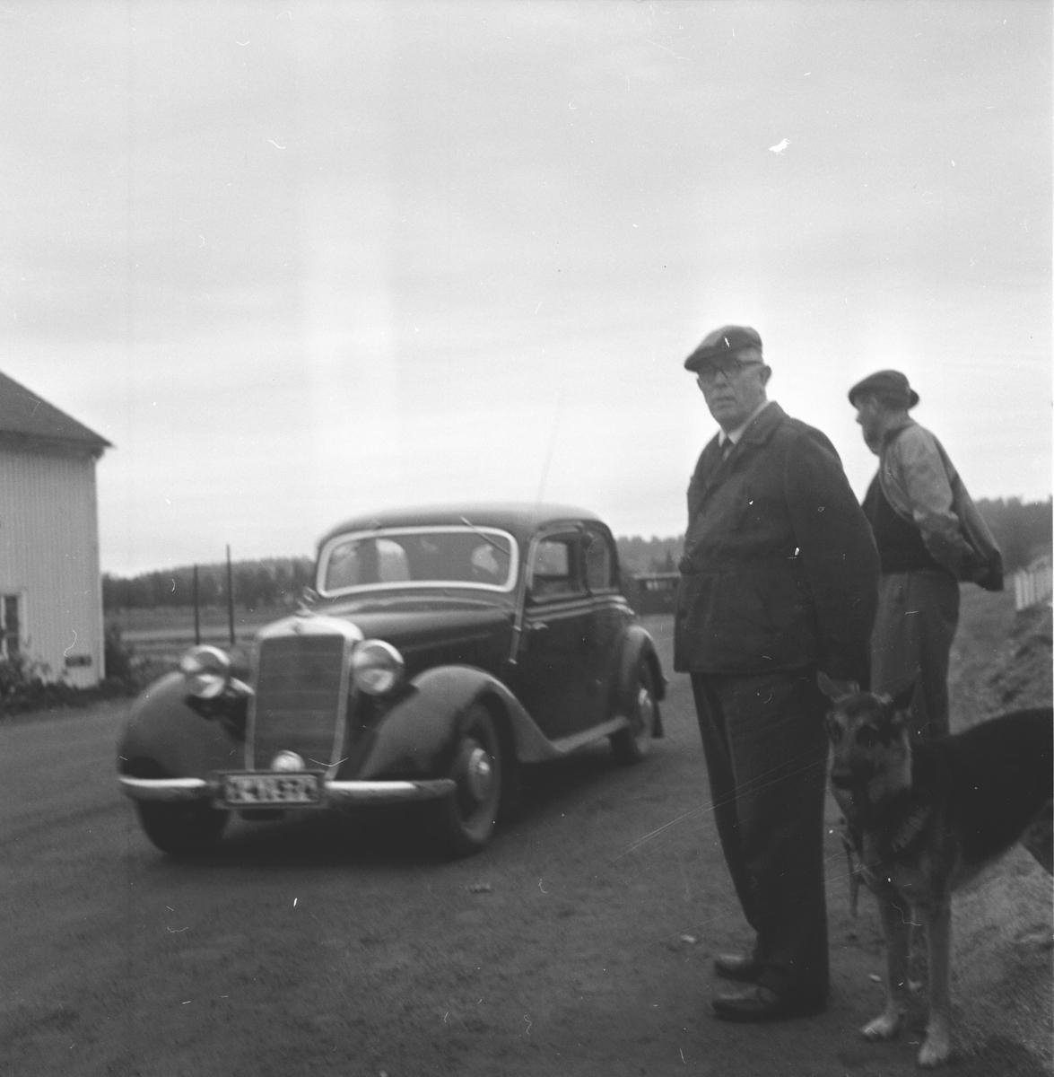 Ny infartsväg till Bollnäs 11 sept 1961