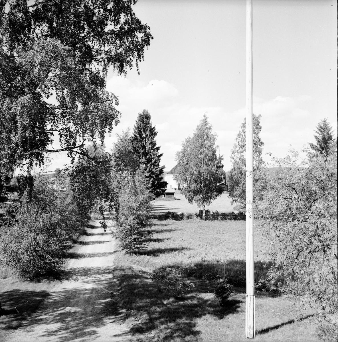 Undersvik Prästgården. Juni 1972