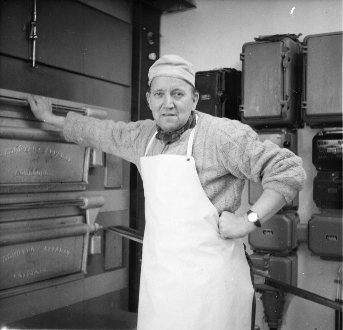Bagarmästare Artur Markström 60 år. Stråtjära 20/6 1963