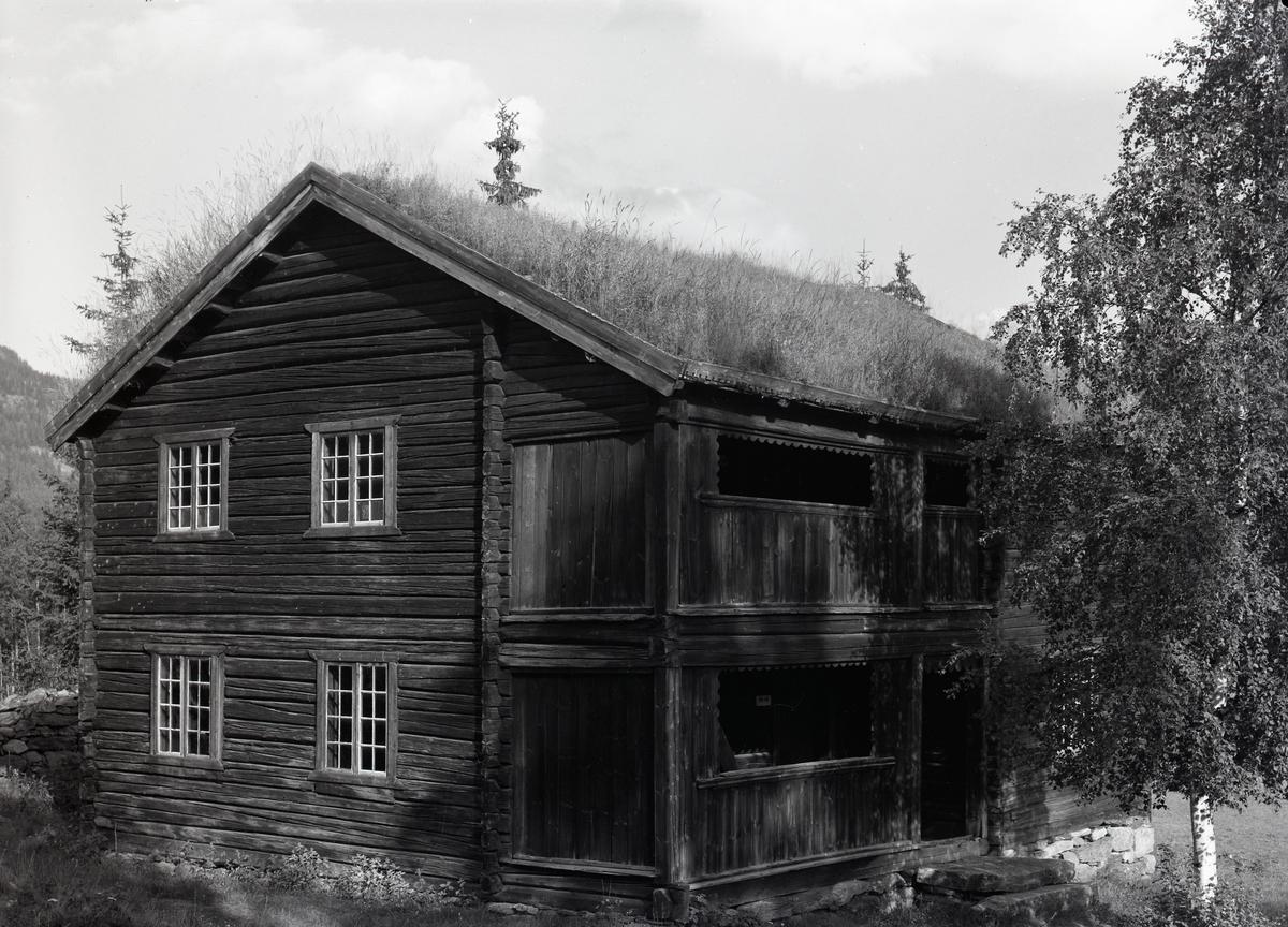 Bygning frå Prestøyn, Valdres Folkemuseum.