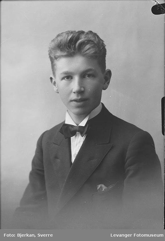 Portrett av Einar Hilderim.