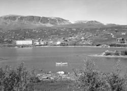 Ustaoset, sommar, hyttegrend, Ustaoset Hotell, robåt,Ustevat