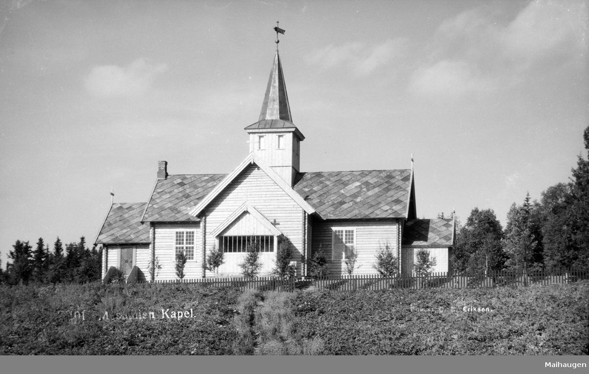 Mesnalien kapell i Mesnali i Ringsaker.