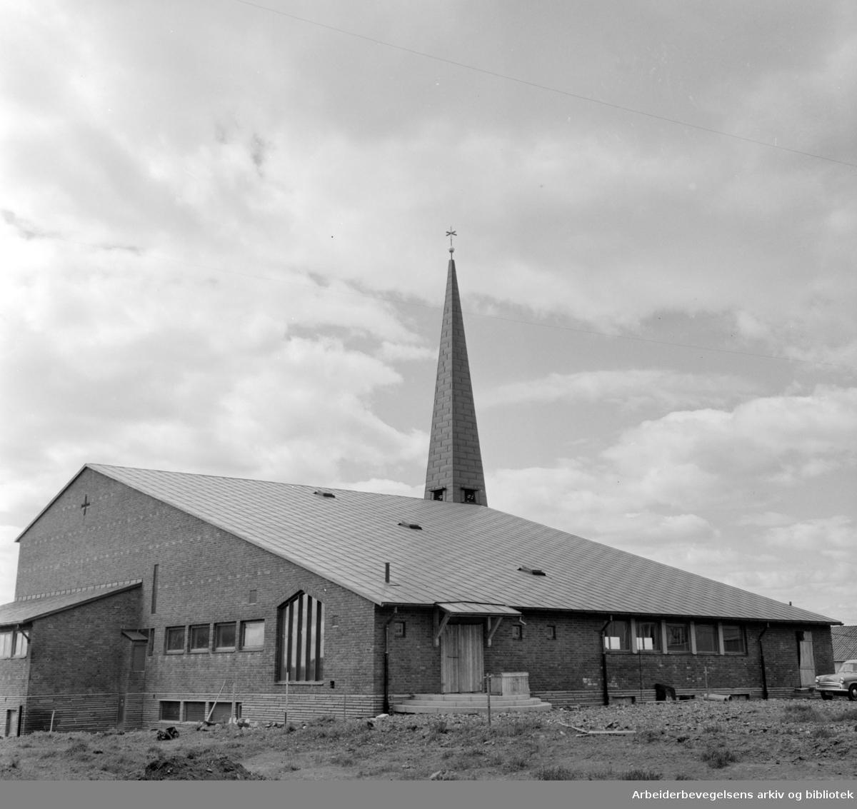 Tonsen kirke. Juni 1961