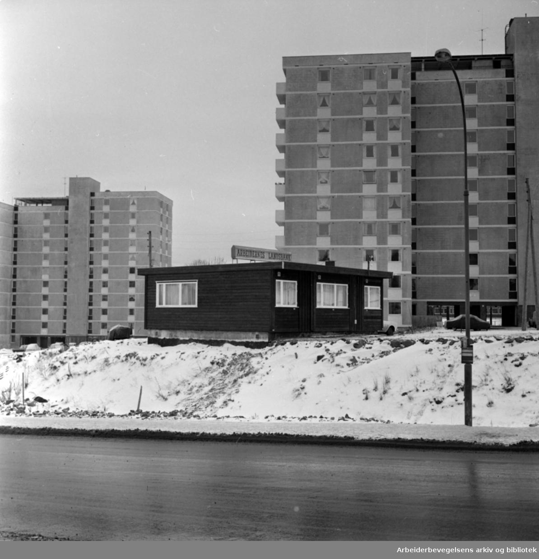 Tveita. Arbeidernes landsbank. November 1966